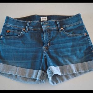 Hudson Denim Cuffed Shorts